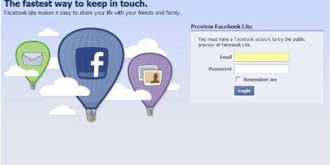 facebook-lite-login