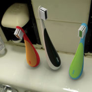 Stand-up-toothbrush