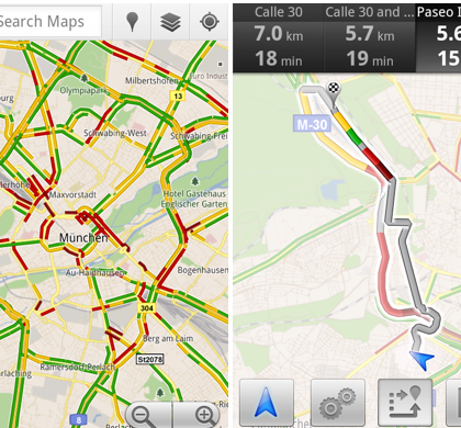 google-maps-live-trafic