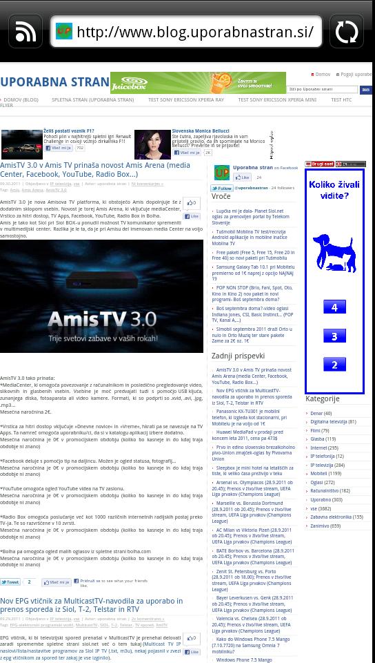 HTC EVO 3D-test/recenzija slovenske različice mobilnika s ...