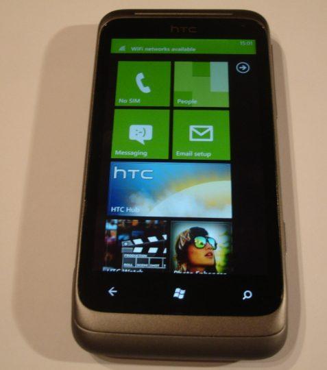 HTC Radar- test/recenzija mobilnik z novim Windows Phone 7 ...