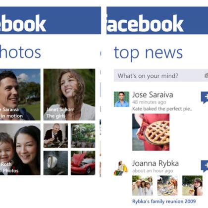 Facebook-Windows-Phone-App