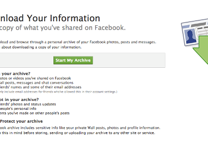 facebook-download-personal-information
