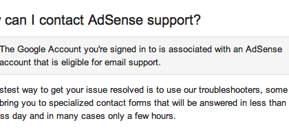 adsense-email-support-yes