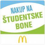 McDonald's v Kopru ima od januarja 2014 tudi študentske bone