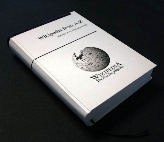 wikipedia-knjiga