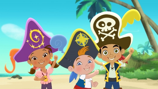 Jakec in pirati iz dezele Nije