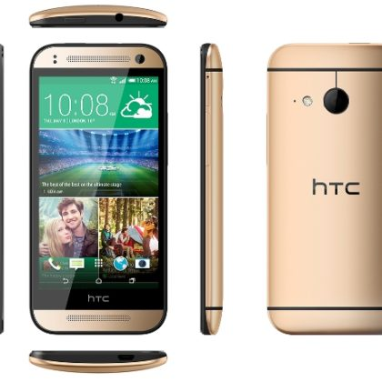 HTC One mini 2_Gold