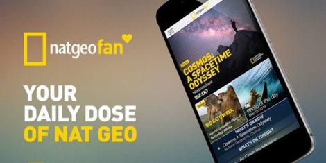 Nat Geo Fan app
