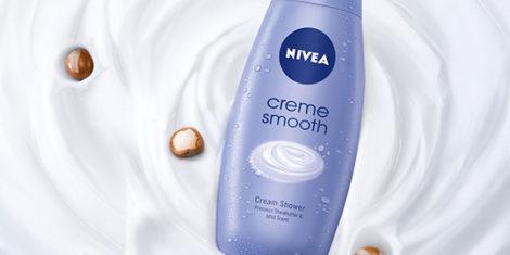 NIVEA Creme Smooth gel za tusiranje s karitejevim maslom