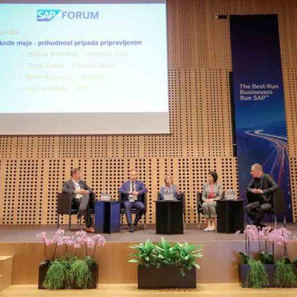 SAP Forum Slovenija 2015 okrogla miza
