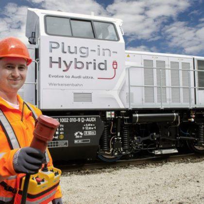 audi-Plug-In hibrid-lokomotiva