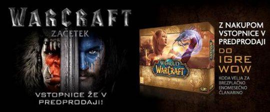 Warcraft The Beginning-predprodaja
