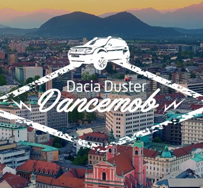 Duster dancemob Ljubljana