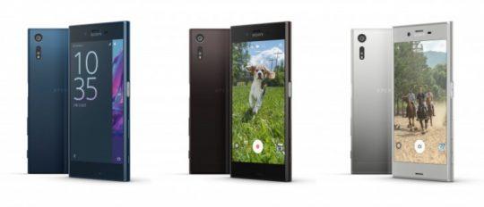 Sony Xperia XZ-barve