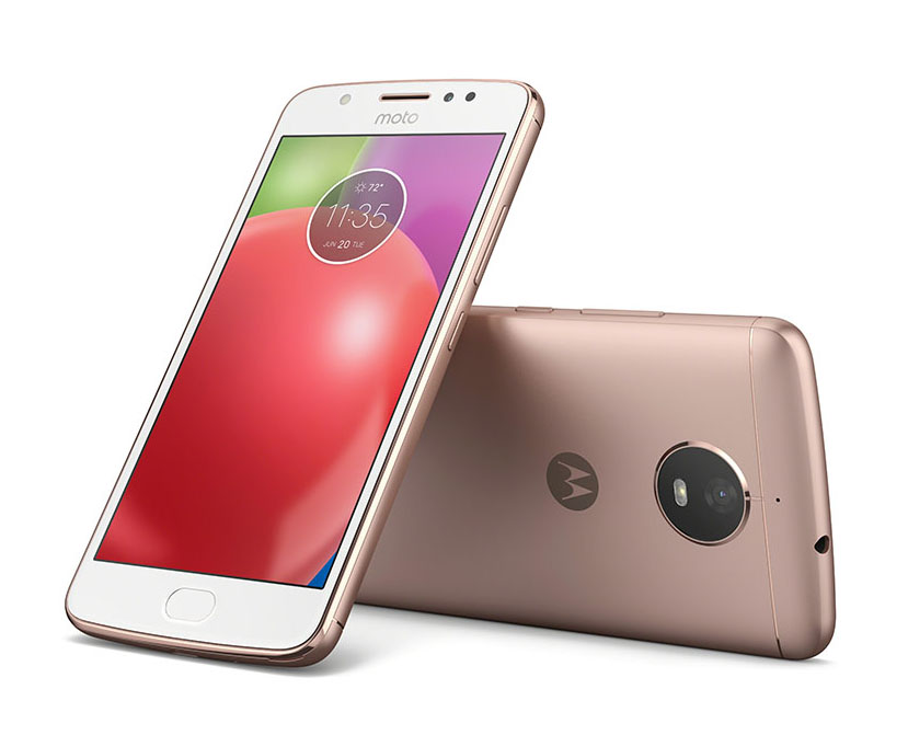 Moto E4_Blush Gold_Back_Front_With NFC_