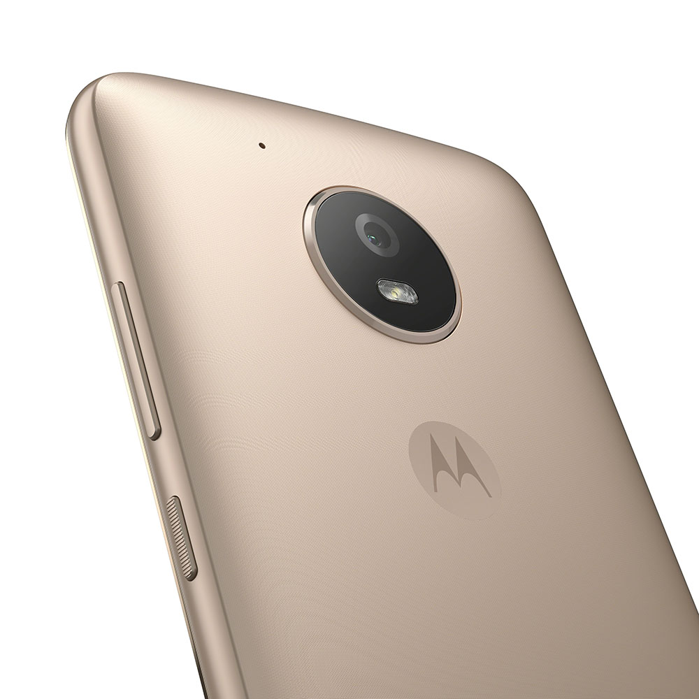 Moto E4_Fine Gold_Back Detail