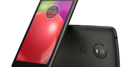 Moto E4_Licorice Black_Front_Back_With Fingerprint Sensor