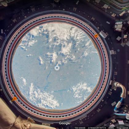 International Space Station Google Street View