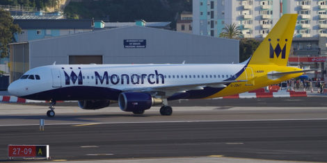 Monarch Airbus A320-200