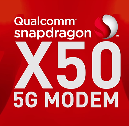 Qualcomm Snapdragon X50 modem 5G