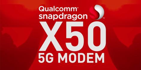 Qualcomm Snapdragon X50 modem 5G