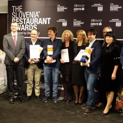 The Slovenia Restaurant Awards 2018 -1