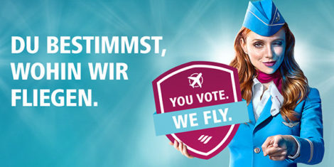 eurowings-You Vote, We Fly