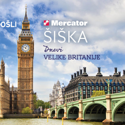 Dnevi Velike Britanije v Mercatorju siska