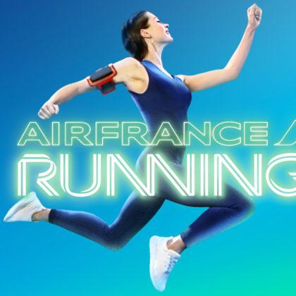 Air France Running-fb