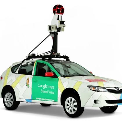 Google Street View avtomobil