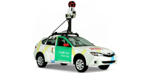 Google Street View avtomobil