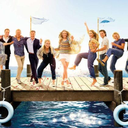 Mamma Mia-Spet začenja se-Mamma Mia Here We Go Again-poster-FB