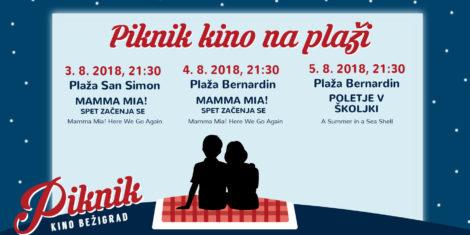 Piknik kino Bezigrad na plazi-FB