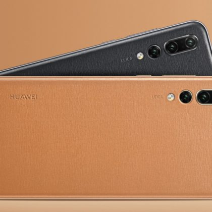 huawei-p20-pro-Golden Brown Leather-Elegant Black Leather-FB