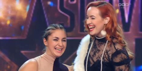 Tjasa Dobravec in Veronika Steiner-finale-slovenija-ima-talent-2018