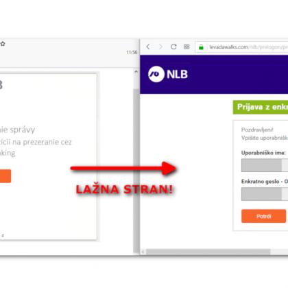 NLB-NLB Klik-phishing zloraba