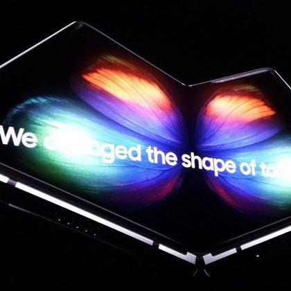 Samsungu Galaxy Fold