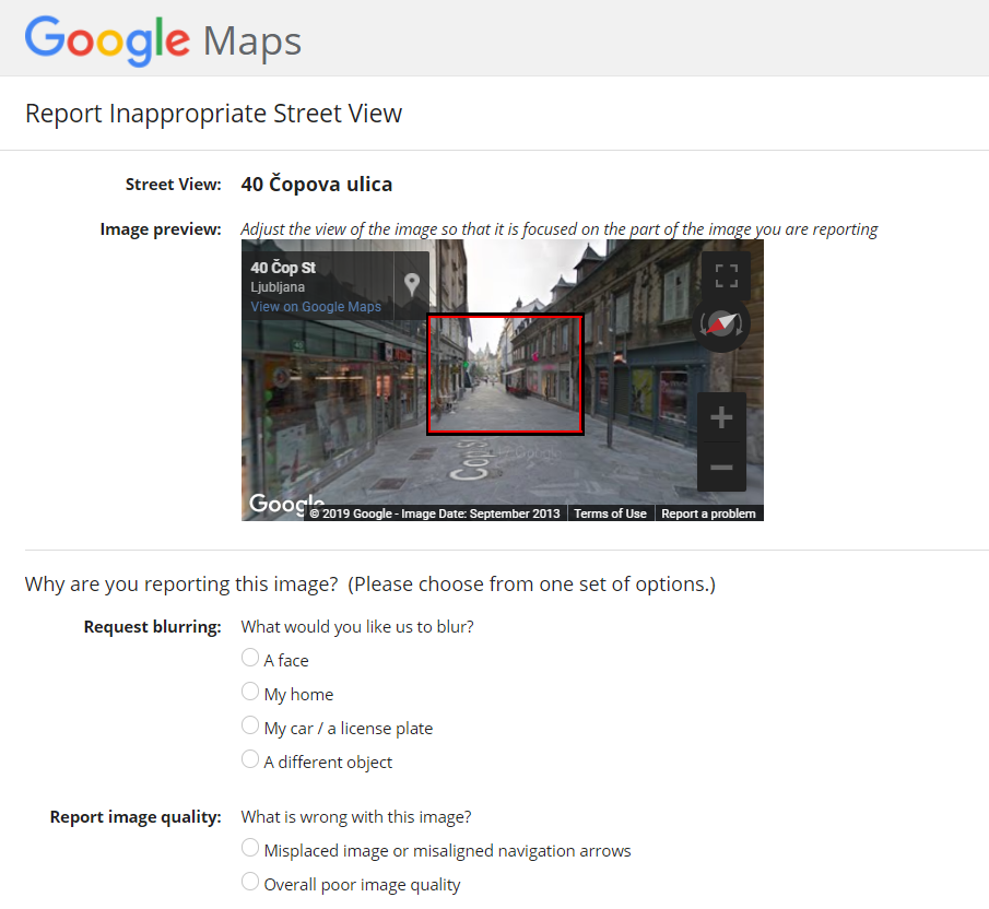 Google Street View avtomobil ponovno snema po Sloveniji, s