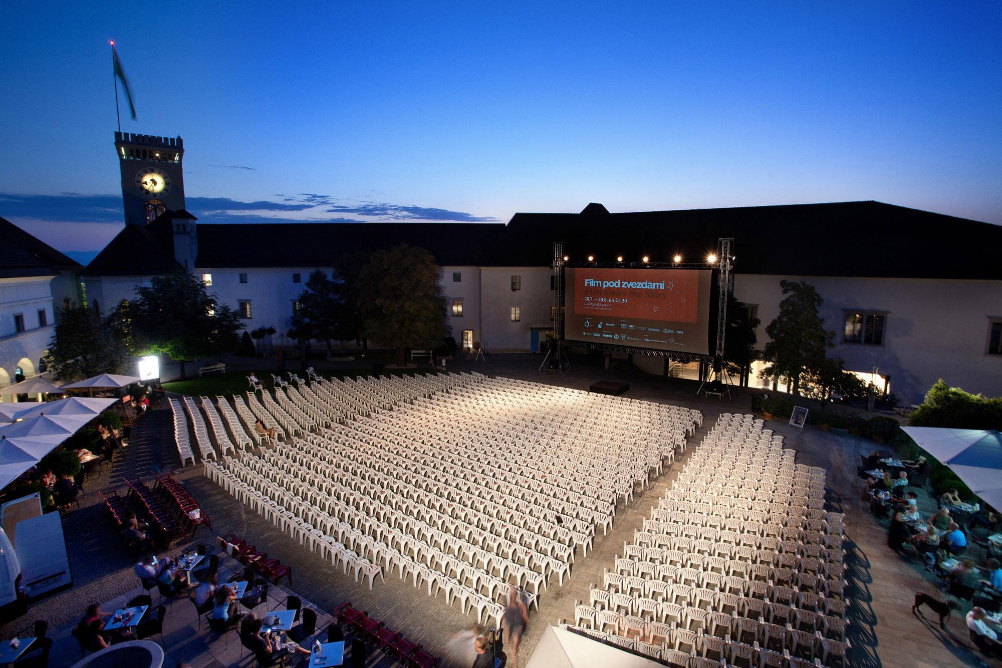 Zaključek Filma pod zvezdami: Vikendova premiera, Ljubljanski grad, 20.8.2011
