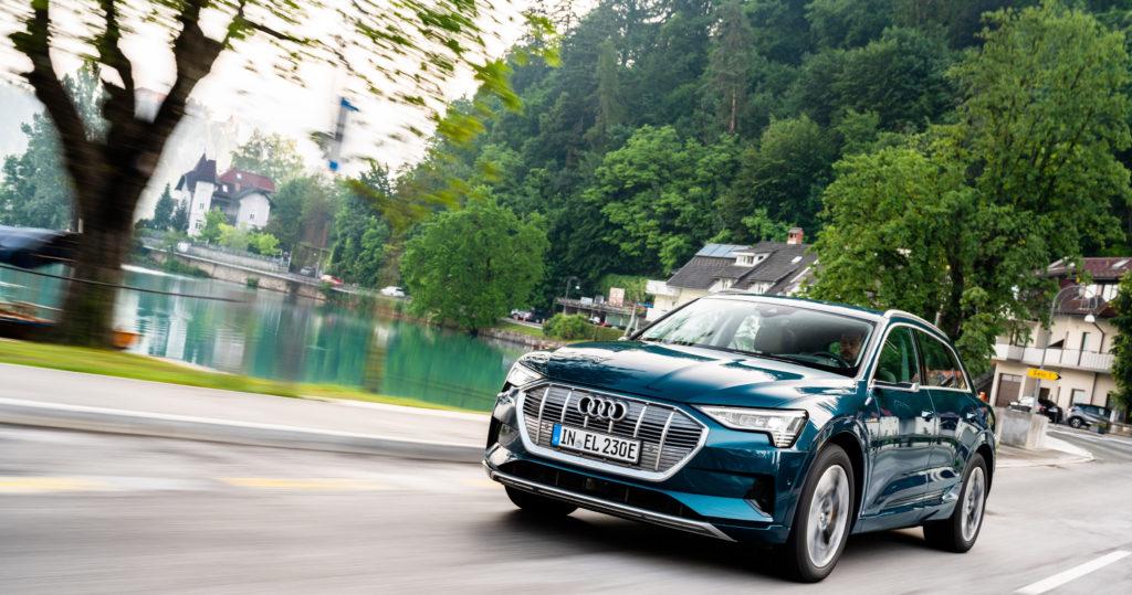 Audi-e-tron-55-Quattro-slovenija-bled