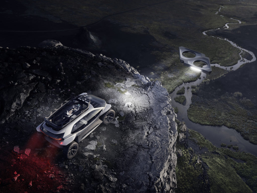 Audi AI:TRAIL quattro koncept droni
