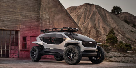 Audi AI:TRAIL quattro koncept