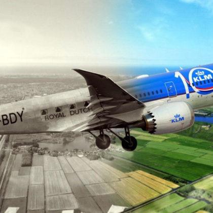 KLM-100-let-letalska-druzba