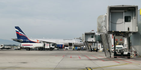 ljubljana-brnik-letalisce-aerodrom-fraport-slovenija-oktober-2019-aeroflot