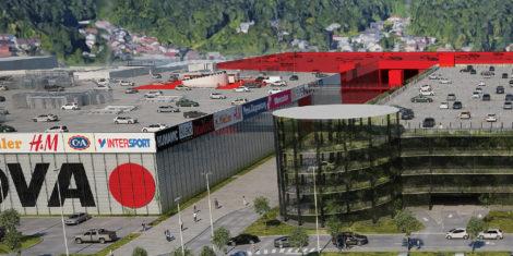 Supernova-Ljubljana-Rudnik-parkiranje-na-strehi-centra