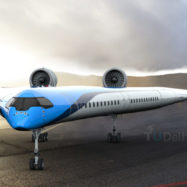 Flying-V-letalo-KLM-plane