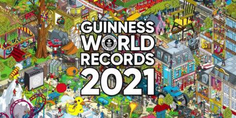 Guinnessova knjiga rekordov 2021