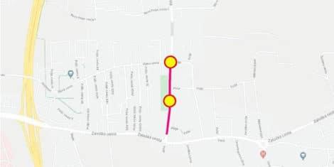 Krizisce Zadobrovska cesta Rjava Cesta polje-zapora-fb
