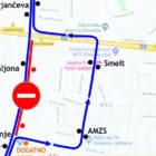 Slovenceva cesta-ljubljana-obvoz_linije_14_bezigrad_september_2020-fb